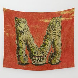 Monster M Wall Tapestry