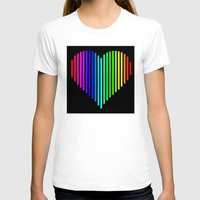 techno T-shirts featuring Techno Love by JG Designs