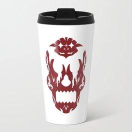 Bloody Sugar Skull Travel Mug