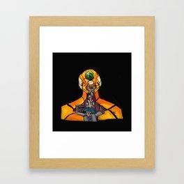 Eva! Framed Art Print