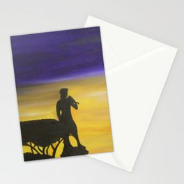 Sunset in Florence Stationery Cards