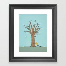 Immovable Framed Art Print