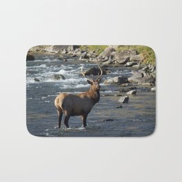 Yellowstone Bull Elk Bath Mat