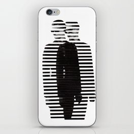Deconstruction IV (Thin Man) iPhone Skin
