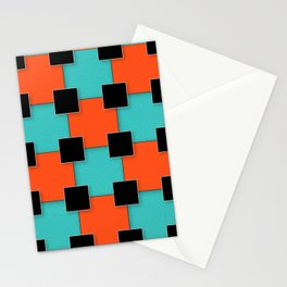 Cubist Cat Stationery Cards