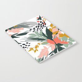Botanical brush strokes I Notebook