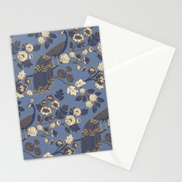 Peacock Garden {Eastern Blue} Stationery Cards