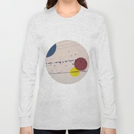 Chaos On The Wires Long Sleeve T-shirt