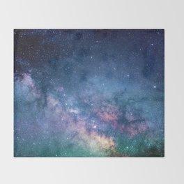 The Milky Way Throw Blanket