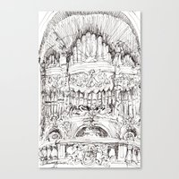 a superfluous organ Canvas Print