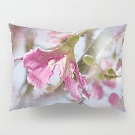 Dreamy Pink Flower Pillow Sham