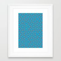 dazed and confused Framed Art Prints featuring DAZED & CONFUSED by forgivmi