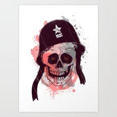 Soldier  Art Print