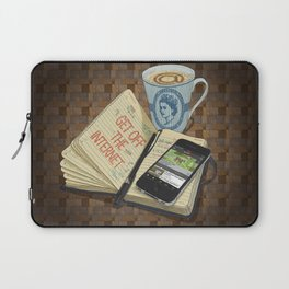 Internet Addict Laptop Sleeve