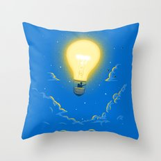Let the light lead the way Throw Pillow
