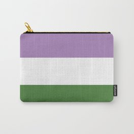 Genderqueer Flag Carry-All Pouch