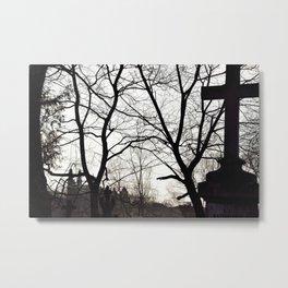 Uzupis Metal Print