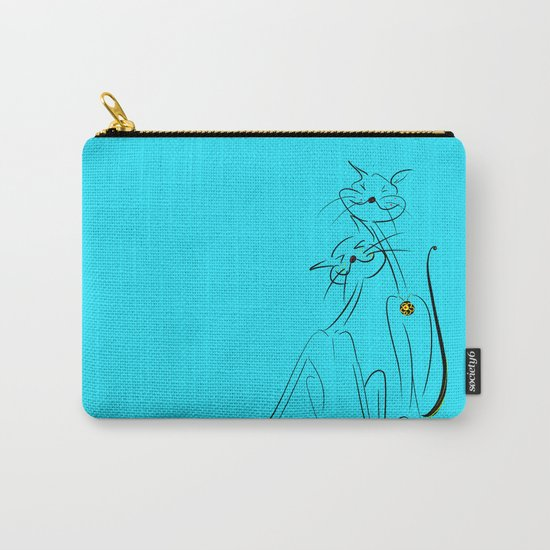 scratchy Carry-All Pouch