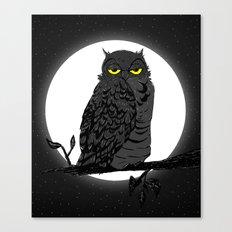Night Owl V. 2 Canvas Print