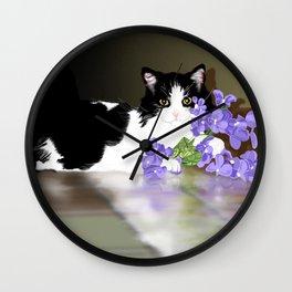 Cherokee Kitty Wall Clock