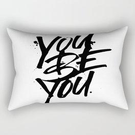 you be you Rectangular Pillow