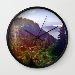 Howe Sound Crest Trail Wall Clock