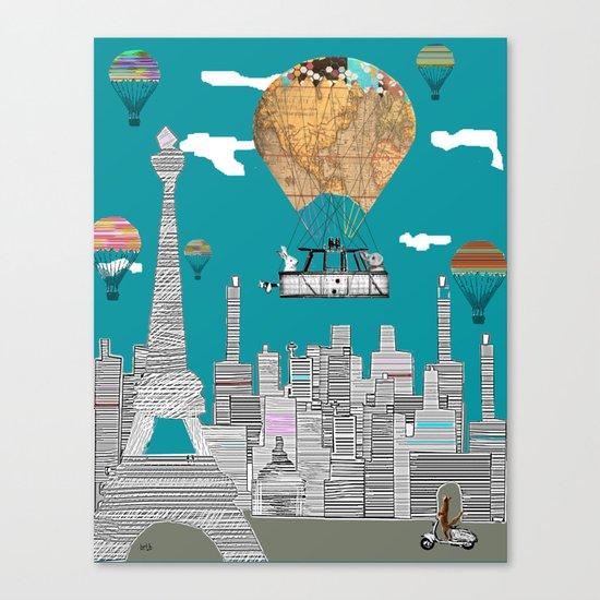 adventure days paris Canvas Print