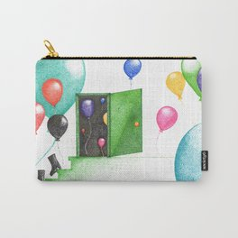 Balloon party (pointillism) Carry-All Pouch
