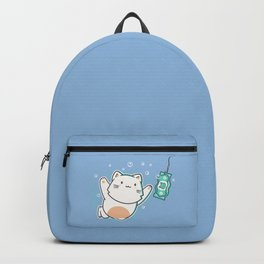Nevermind Cat Backpack