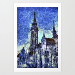 The Church Vincent Van Gogh Art Print