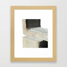 block study Framed Art Print