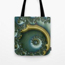 spiral art -h- Tote Bag
