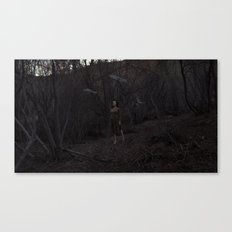 ESCAPING THE FORREST Canvas Print
