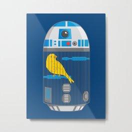 R2 Birdcage Metal Print