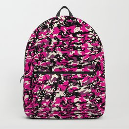 TCR-CAMO PRINT back pack -pink Backpack
