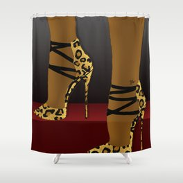 Strut Shower Curtain