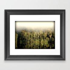 Fog & Relection Framed Art Print