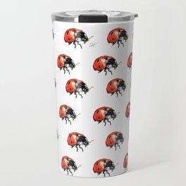 The LadyBug Travel Mug