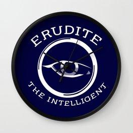 Divergent - Erudite The Intelligent Wall Clock