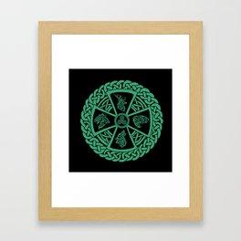 Celtic Nature Framed Art Print