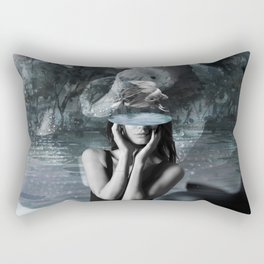 Fish Head Rectangular Pillow