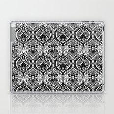 Simple Ogee Black & White Laptop & iPad Skin