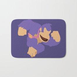Donkey Kong(Smash)Purple Bath Mat