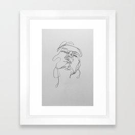 distanced Framed Art Print