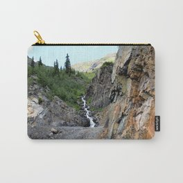 The Silver Crown Mine - Rounding a Bend in the Old Wagon Road Carry-All Pouch