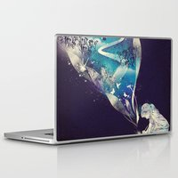 god Laptop & iPad Skins featuring Dream Big by dan elijah g. fajardo