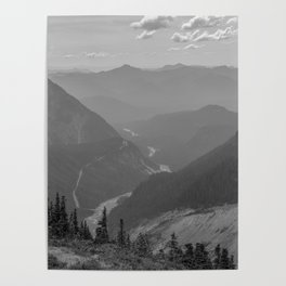Nisqually River Valley Poster