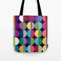the moon Tote Bags featuring Moon by Kakel
