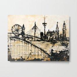 Hamburg abstract Metal Print