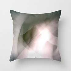Bolton Abbey Ghost Throw Pillow
